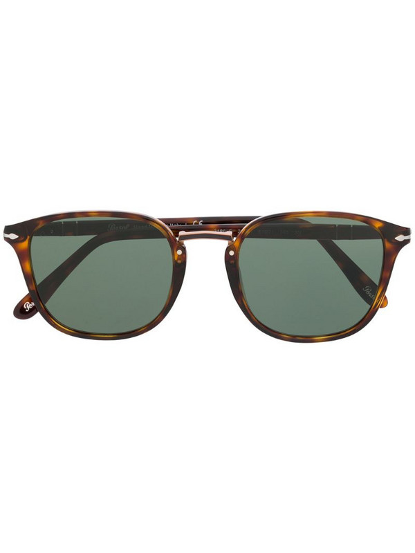 Persol tortoiseshell sunglasses in brown
