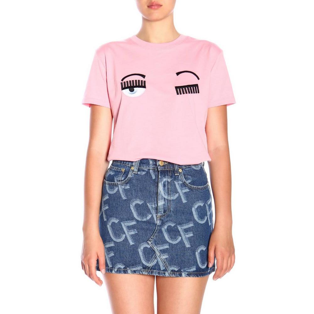 Chiara Ferragni T-shirt T-shirt Women Chiara Ferragni in pink