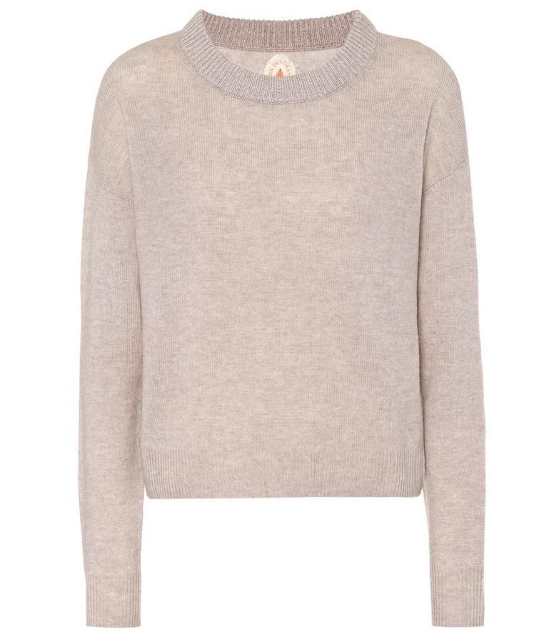 Jardin des Orangers Cashmere sweater in beige