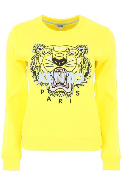 Kenzo Tiger Sweatshirt in yellow