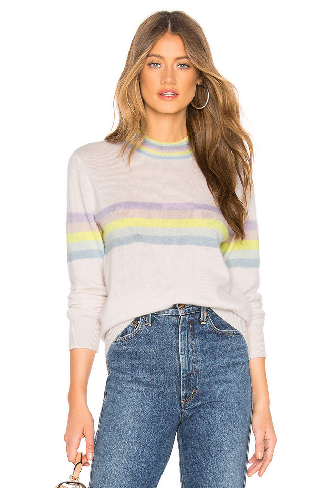 27 miles malibu Risa Sweater in purple