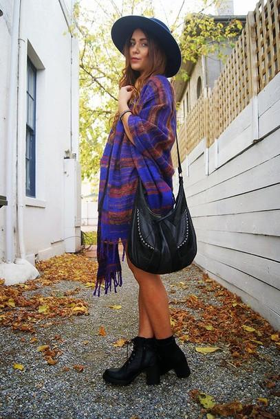 nicola claire hat bag scarf shoes