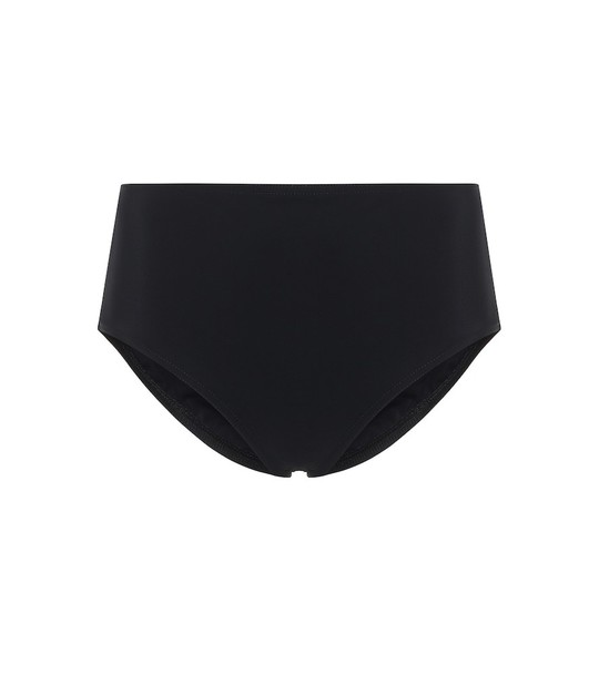 Karla Colletto Basic high-rise bikini bottoms in black