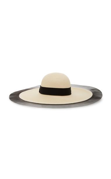 Eugenia Kim Sunny Woven Hat in neutral