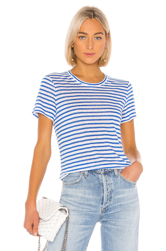 Michael Stars Colleen Tee in blue