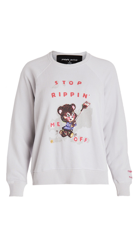 The Marc Jacobs x Magda Archer The Magda Sweatshirt in grey