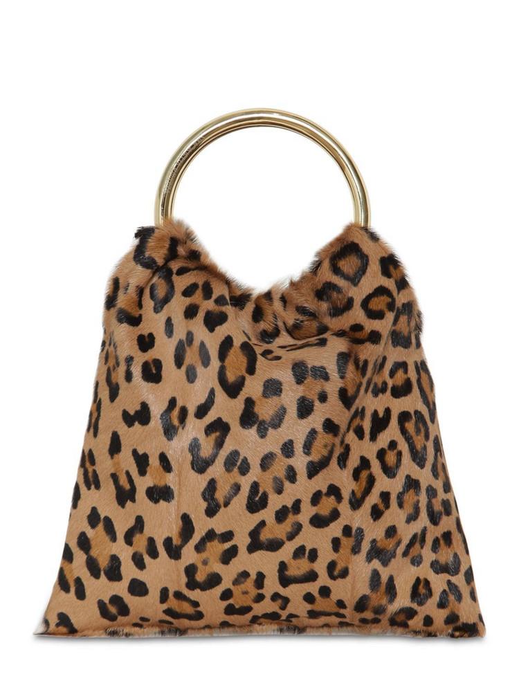 SIMONETTA RAVIZZA Furissima Sac Kid Leopard Printed Bag