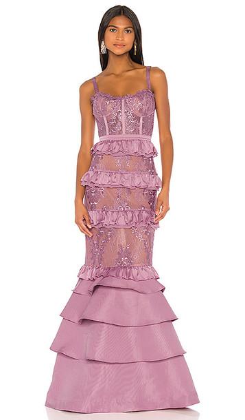 V. Chapman X REVOLVE Protea Gown in Lavender