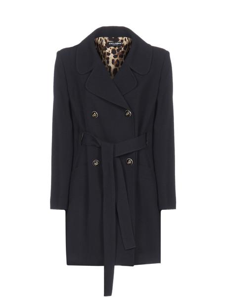 Dolce & Gabbana Coat in nero