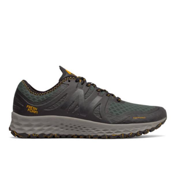 New Balance Fresh Foam Kaymin TRL Men's Running Shoes - Green/Black/Yellow (MTKYMRO1)