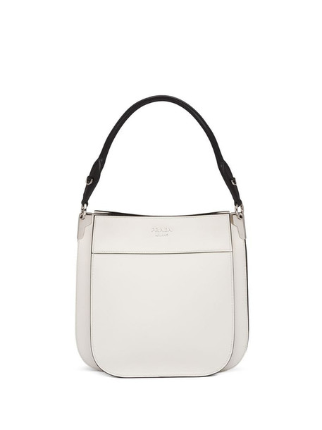 Prada Margit logo shoulder bag in white