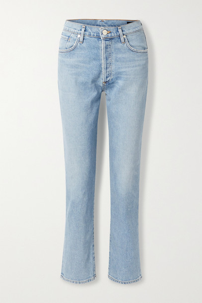 GOLDSIGN - The Benefit High-rise Straight-leg Jeans - Blue