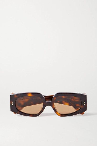 Zimmermann - Espionage Square-frame Tortoiseshell Acetate Sunglasses