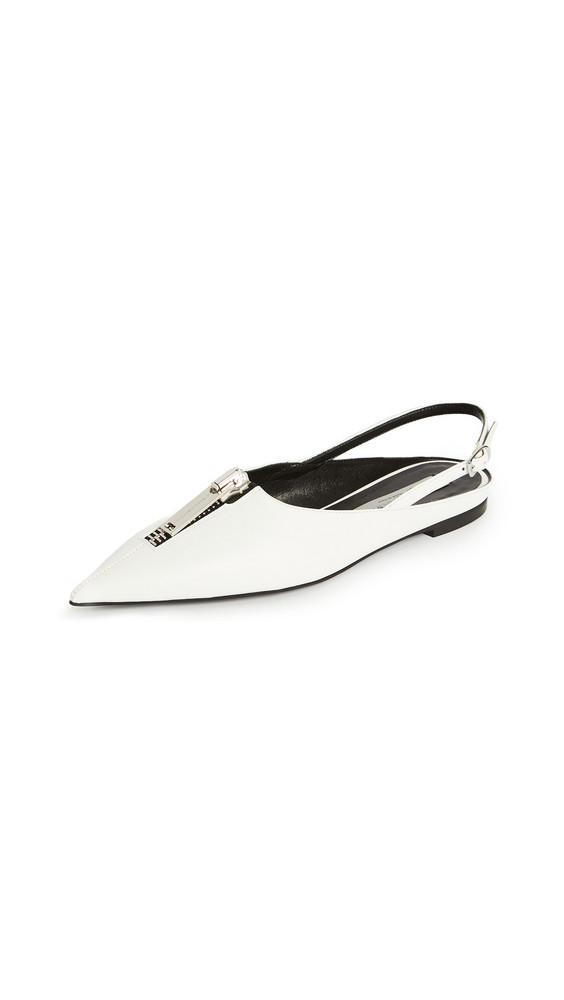Stella McCartney Zipit Shoes in white
