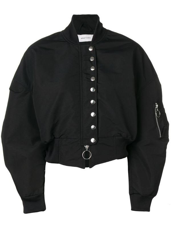 Marques'Almeida bomber jacket in black