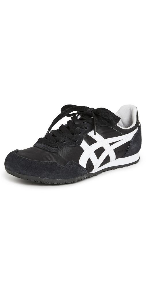 Onitsuka Tiger Serrano Sneakers in black / white