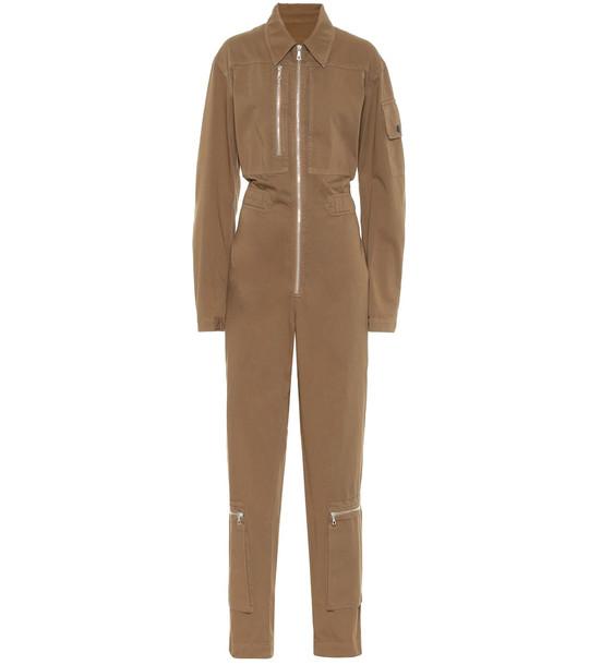 Dries Van Noten Denim jumpsuit in beige