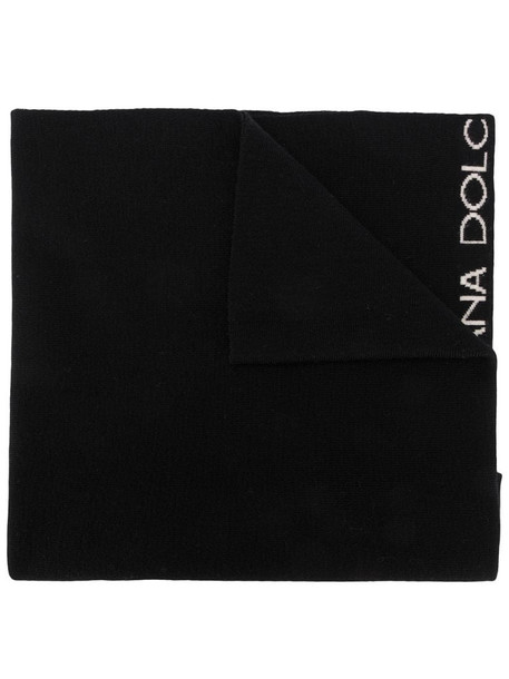 Dolce & Gabbana Pre-Owned 1990s knitted scarf in black