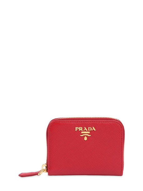 PRADA Small Saffiano Leather Coin Purse