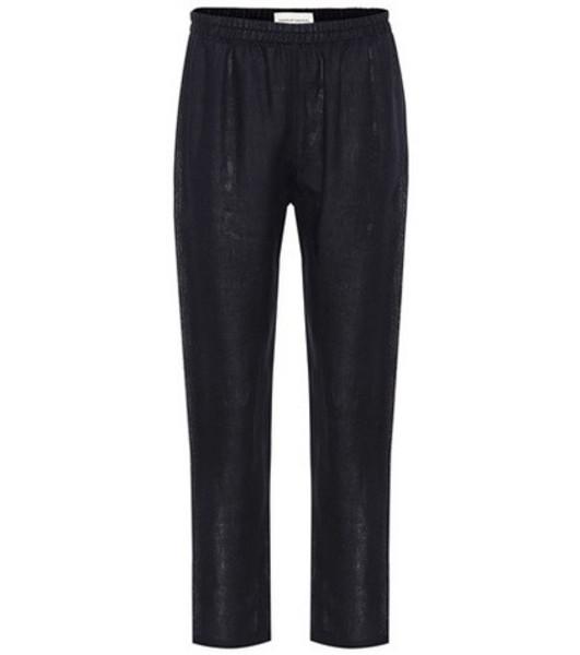 Mansur Gavriel Linen pants in blue