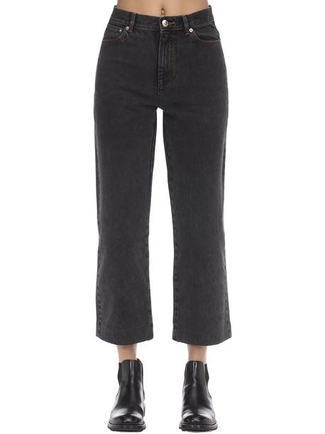 A.P.C. Sailor Cotton Denim Jeans in black