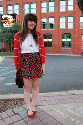 selective potential,flats,red shoes,shoes