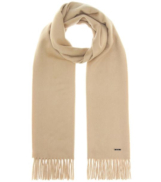Loro Piana Grande Unita cashmere scarf in beige