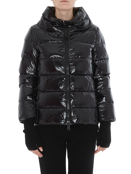 Herno Ludic Effect Down Jacket in black
