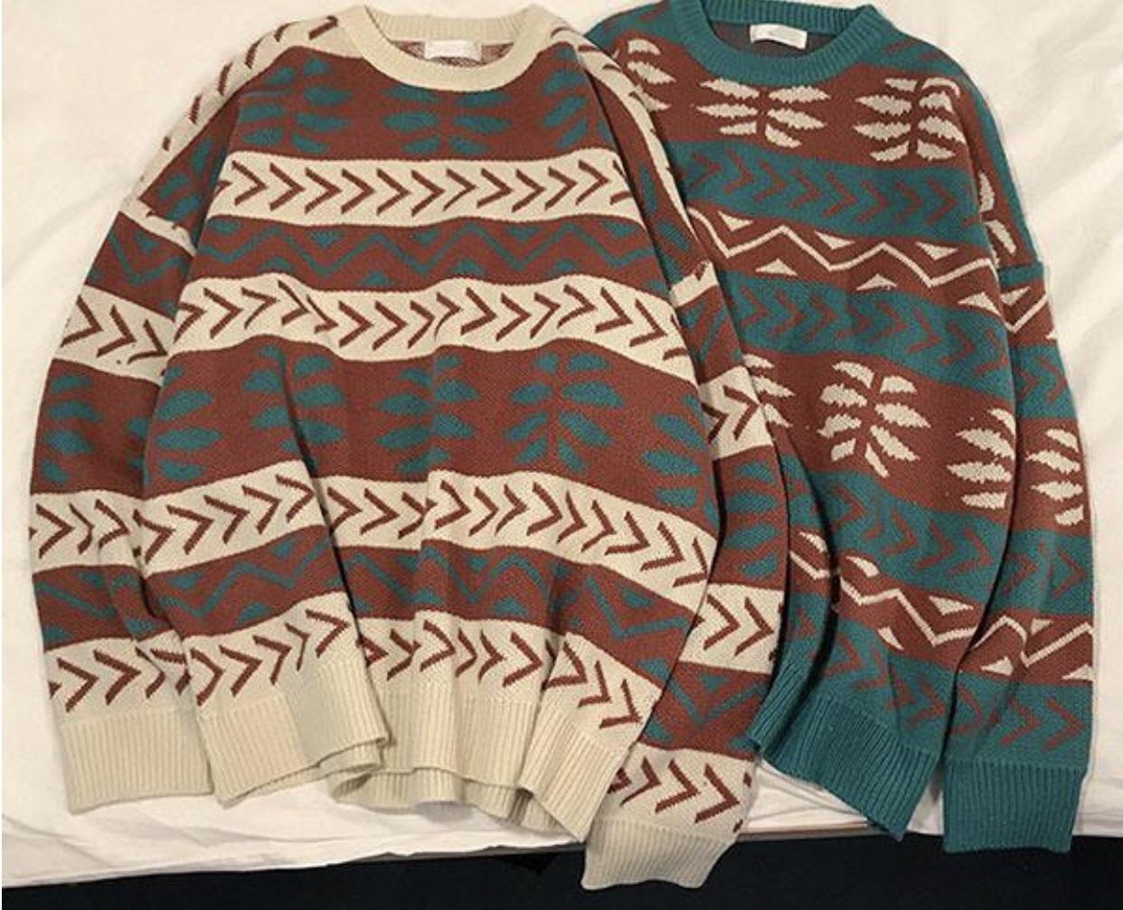 sweater print printed sweater jumper