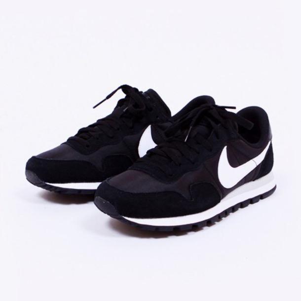 shoes sneakers black nike