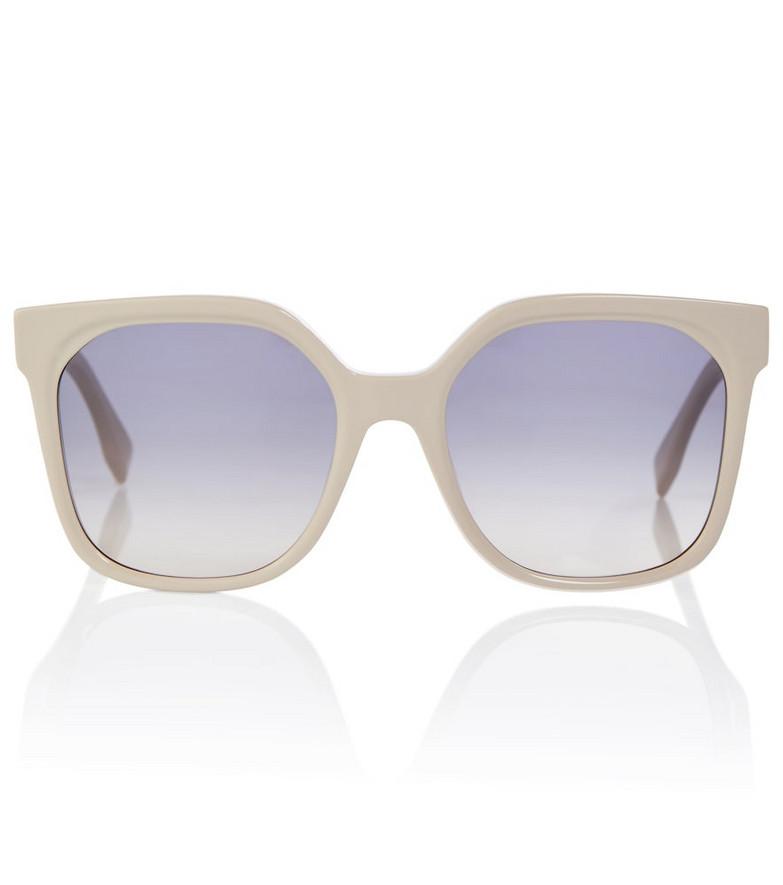 FENDI Acetate sunglasses in beige