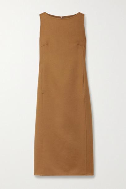 Max Mara - Dumbo Wool Midi Dress - Light brown