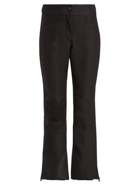 Moncler Grenoble - Flared Ski Trousers - Womens - Black