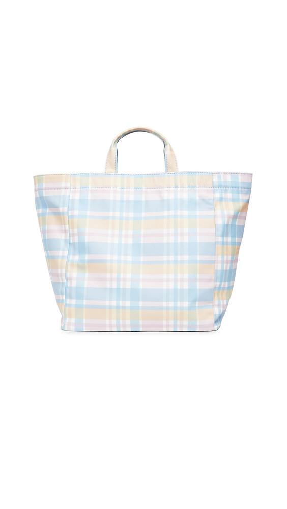 PAMELA MUNSON Mad About Plaid Bag in multi