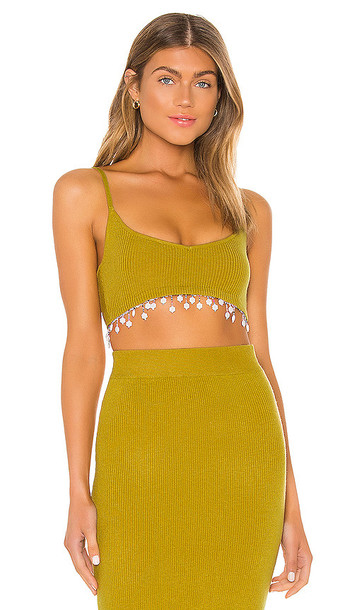 Tularosa Emilia Top in Green