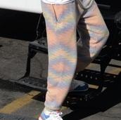 pants,green,yellow,blue,pink,orange,fleece,harry styles