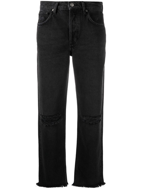 BOYISH DENIM Tommy high-rise straight jeans in black