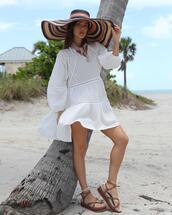 dress,shoes,hat