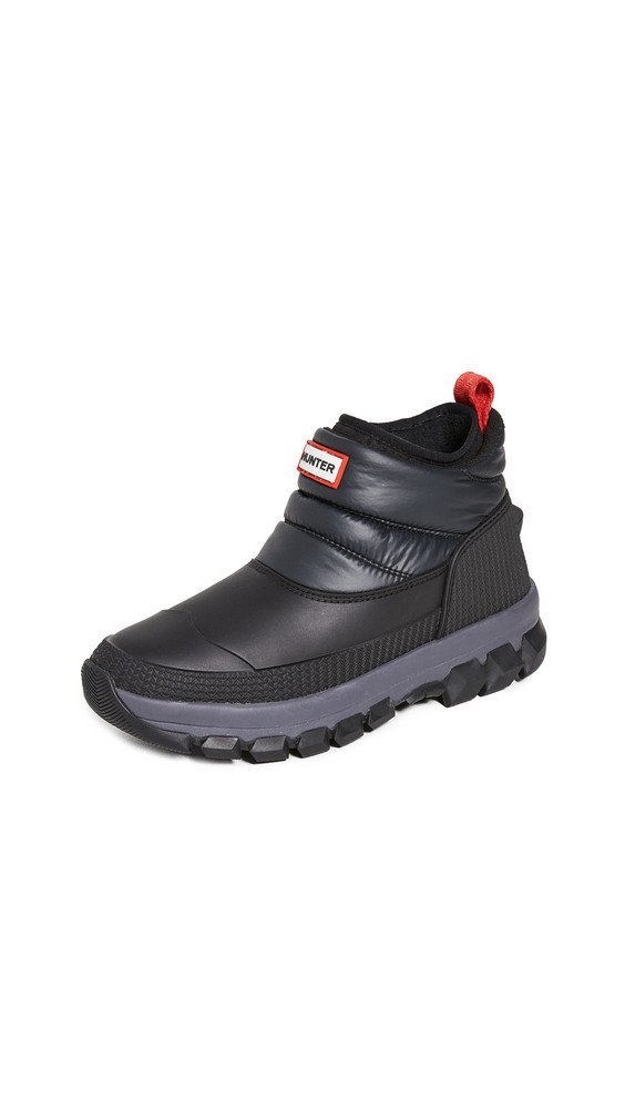 Hunter Boots Original Insulated Snow Ankle Boots in black