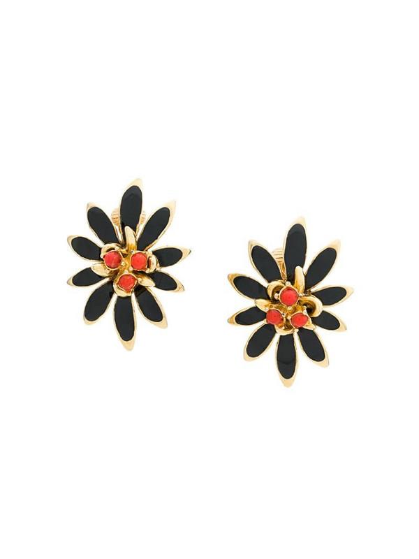 Rewind Vintage Affairs 1980's Clip-on earrings in metallic