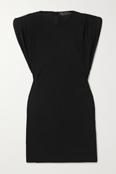 Versace - Stretch-jersey Mini Dress - Black