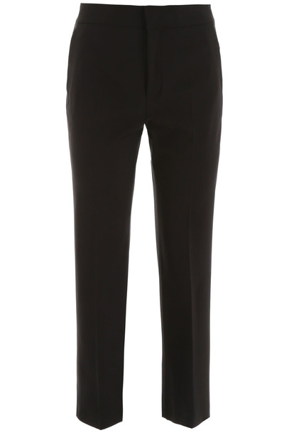 RED Valentino Straight-leg Trousers in black