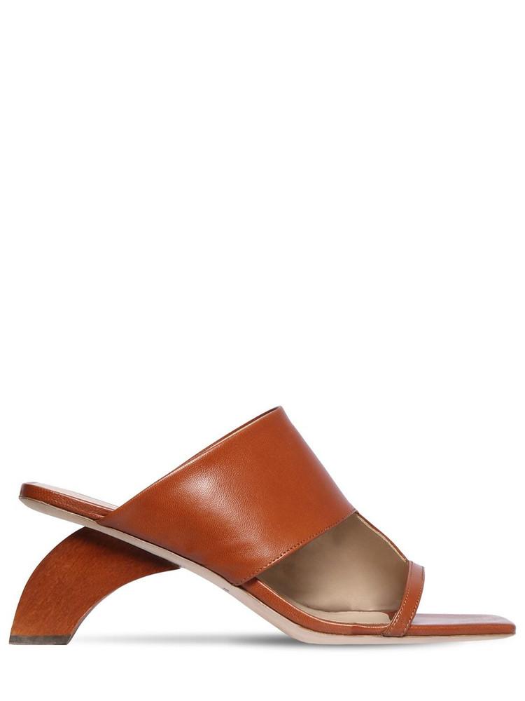 REJINA PYO 60mm Leather Sandals in tan