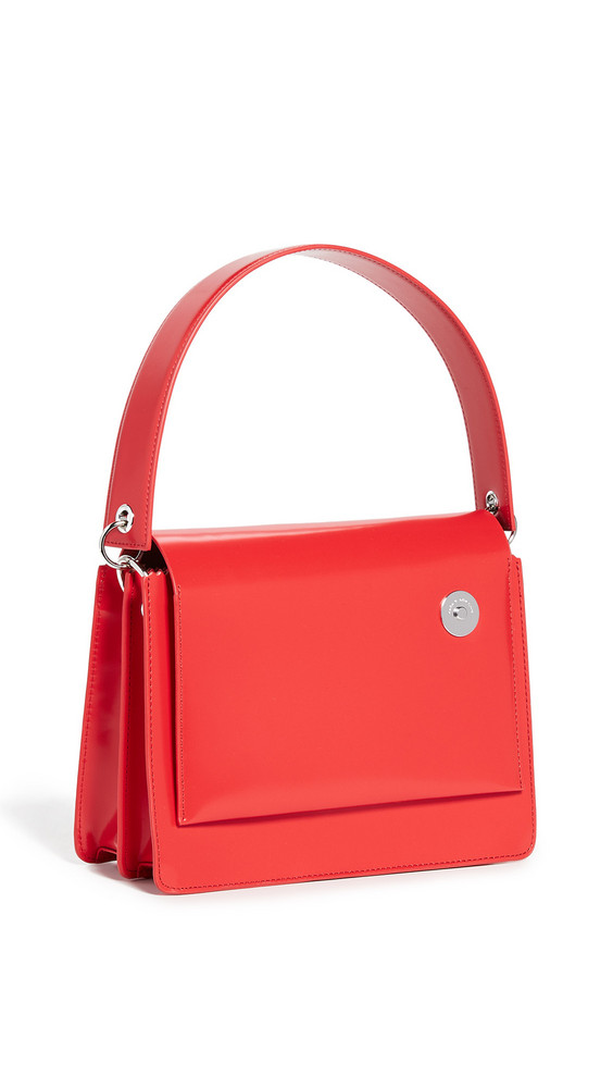 KARA Pinch Shoulder Bag in red