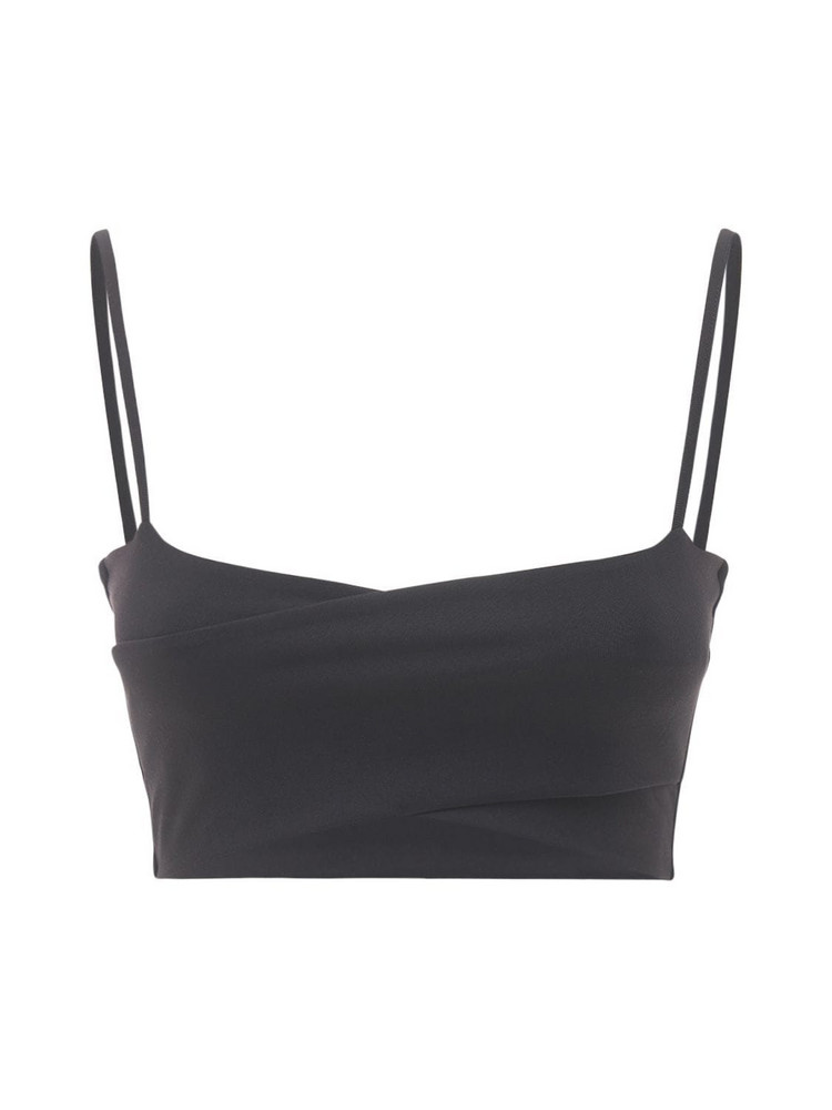 LIVE THE PROCESS Orion Bra Top in black