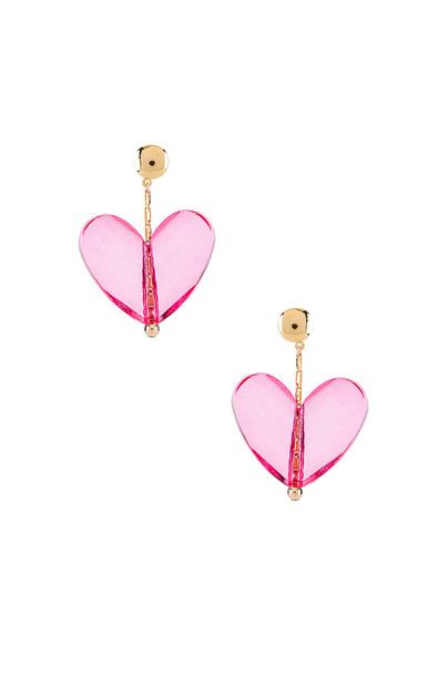 Paradigm Mon Couer Earrings in pink