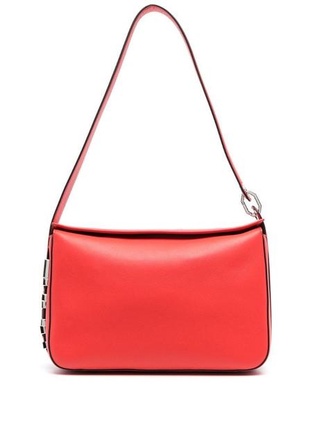 Karl Lagerfeld K/Letter medium shoulder bag in red