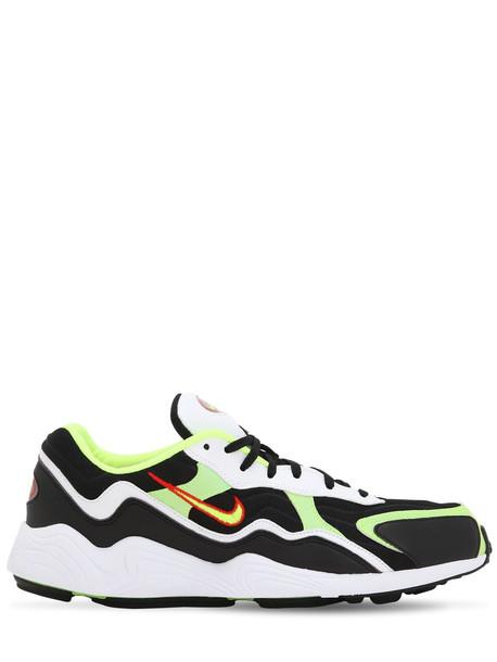 NIKE Air Zoom Alpha Sneakers in black / white