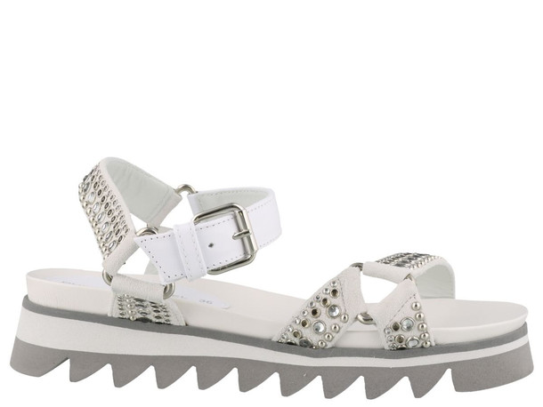Philippe Model Montpellier Sandals in white