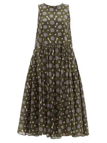 S Max Mara - Murano Dress - Womens - Green Multi